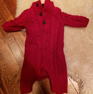 Baby Gap red sweater jumper